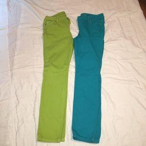 Set of 2 Michael Kors skinny jeans Petite